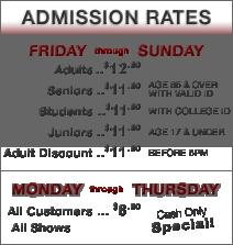 Admission Rates