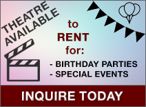 Theatre Available to Rent